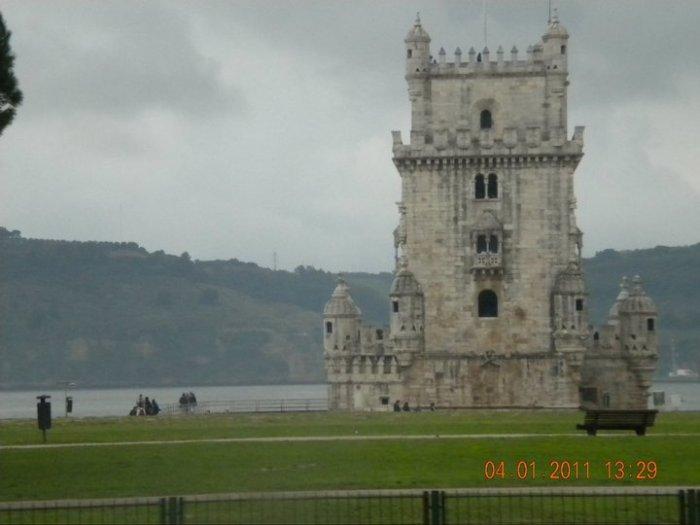 Torre De Belem, ceremonial gateway to Lisbon from which all Portuguese Exploration Fleets started