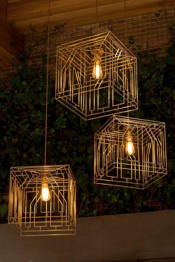 Brass lighting 1
