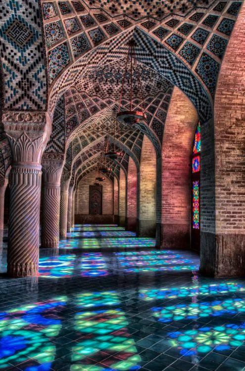 Nasi-ol-Mulk Mosque- Shiraz