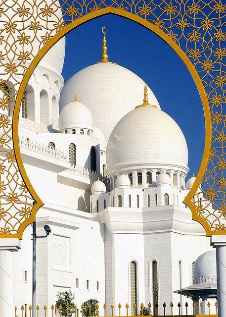 Sheikh Zayed Grand Mosque, Abu Dhabi, UAE 7 v